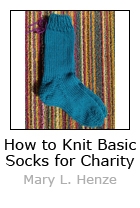 How to Knit Basic Socks