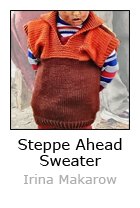Steppe Ahead Sweater