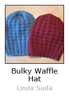 Bulky Waffle Hat