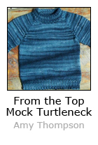 From the Top Mock Turtleneck Sweater