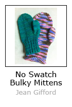 No Swatch Bulky Mittens