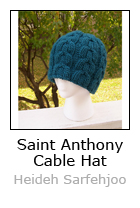 St Anthony Cabled Hat