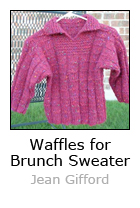 Waffles for Brunch Sweater